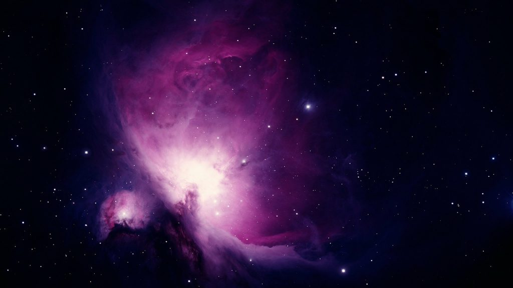 picture of the orion nebula to represent the manifestation miracle of the law of attraction