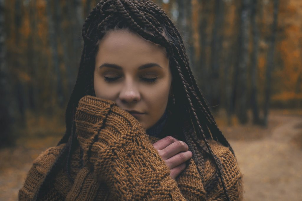 a young woman moving on after heartbreak of unrequited love