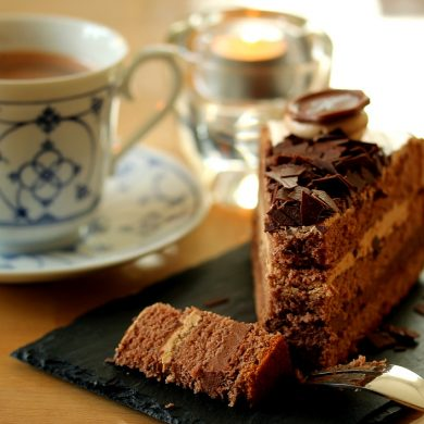 coffee and cake for breakfast to aid weightloss